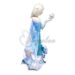 Large foil balloons are Elsa and Anna birthday theme